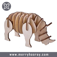 High Quality 3d Puzzle Animal Wooden Toys 3D Puzzle Wholesale Available