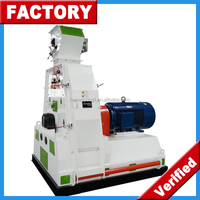 CE approved water drop industrial electric corn grinding hammer mill machine price