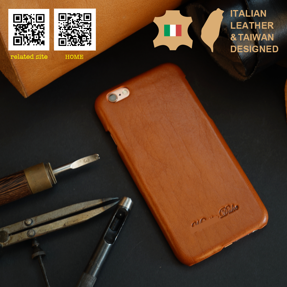 Custom Logo Genuine Leather back cover for iphone6 6s