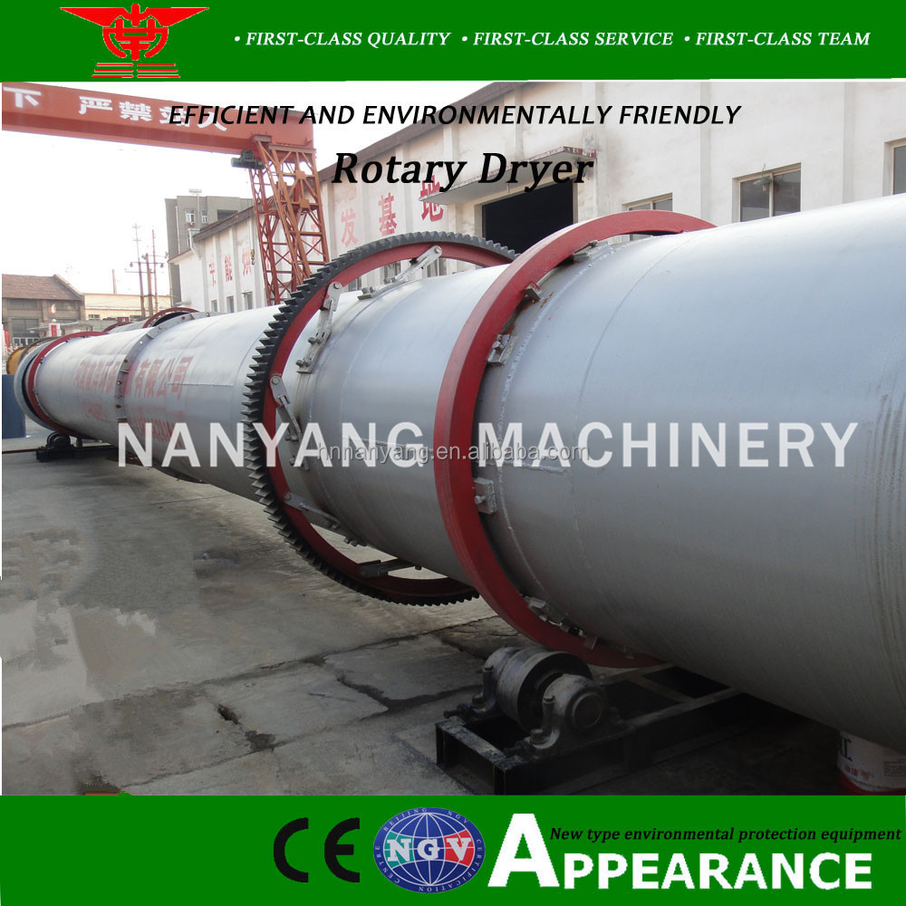 China factory supply industrial rotary dryer for drying salt