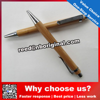Good quality wooden pen and ball-point pen/environmental engraving logo promotional bamboo pen