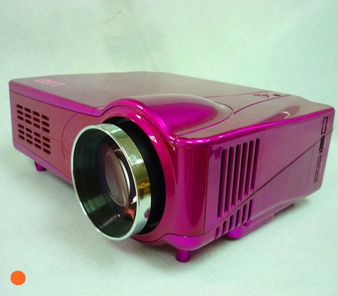 Promotion low cost projector lcd panel 1080p HDMI built in tv tuner, USB support rmvb video
