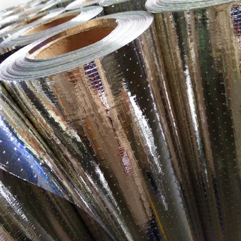 perforated foil radiant barrier reinforced alu foil faced woven fabric alu foil insulation