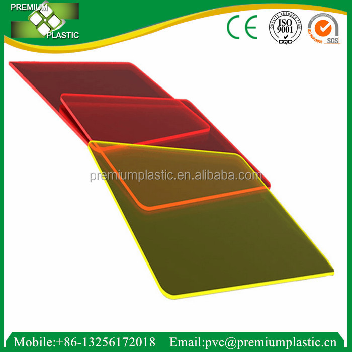 Premium China Factory Cast And Extruded Acrylic PMMA 4x8ft Sheet
