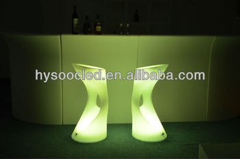 modern led stool/led bar stool