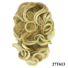 Synthetic Hair Ponytail Black Heat Resistant Wire Material Women Hairpieces
