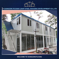 Light steel prefabricated house and wall panels modular homes