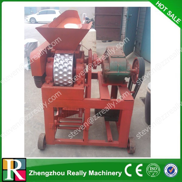 Oval or flat-square or goose egg shaped Ball Press Machine/coal dust briquette machine