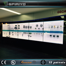 15 patent transparent 3x3 lcd video wall/lcd video wall price for distributors