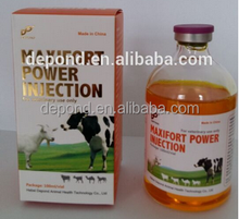 Multivitamin injection for Poultry/livestock Weight Gain