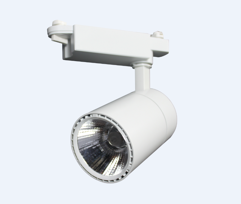 18W commercial white colour lighting fixture high quality led track light