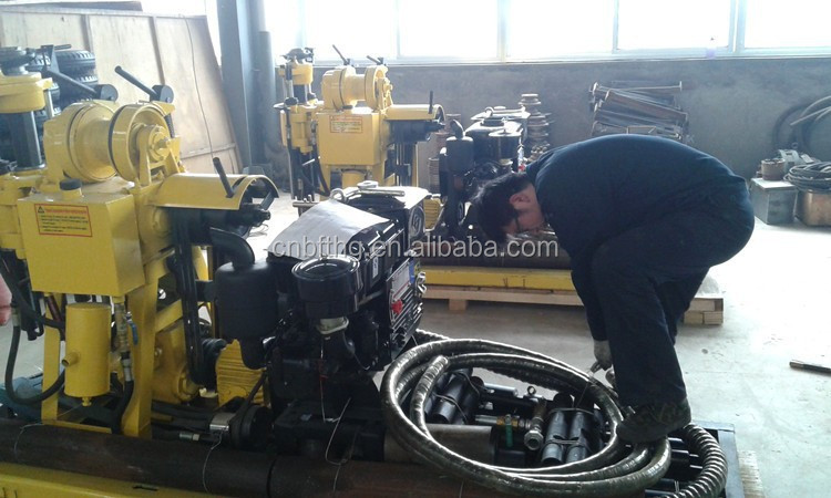 Portable Water Well Drilling Rig For Sale 100m150m 180m