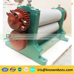 Manual/electrical beeswax comb foundation machine Known professional supply
