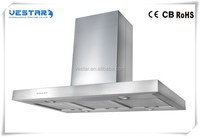 SS chinese kitchen exhaust range hood with electronic button