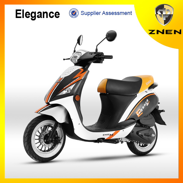 Nice Designed hot sell 50cc Cheap Gas Scooter for Europe Market from China