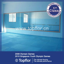 Whole sale indoor antiskid rubber gym floor tiles