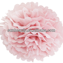 paper handmade decoration wedding flower for wedding car