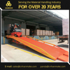 Hanmoke HRMS series Forklift Mobile Loading Ramp for Container