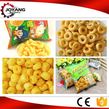 Latest design products puffed corn snacks twin screw extruder machine price