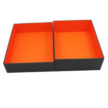 Custom Cardboard Shoes Storage Box,Black Cardboard Box
