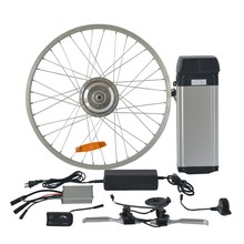 cheap rear wheel electric bicycle parts electric bike conversion wheel kits for sale