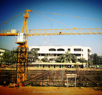 CE Certificated QTZ31.5(4208) Mobile Tower Crane in India