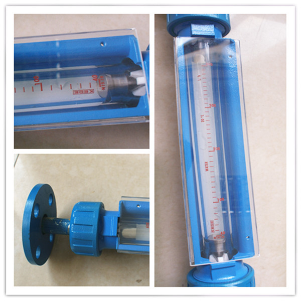 Glass tube flow meter acid flow meter chemical flow meter
