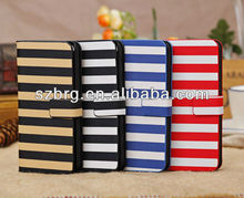 New Wallet Leather Case for iPhone 5C , For iphone 5c flip cover