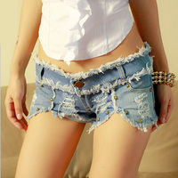 2016 Latest Ripped Shorts Jeans Pant Tops Girls Sexy Women Hot Sexy Ladies Jeans Top Design