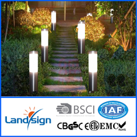 XLTD-259 Hot solar light product BSCI approved china supplier led outside lights stainless steel led bollard light