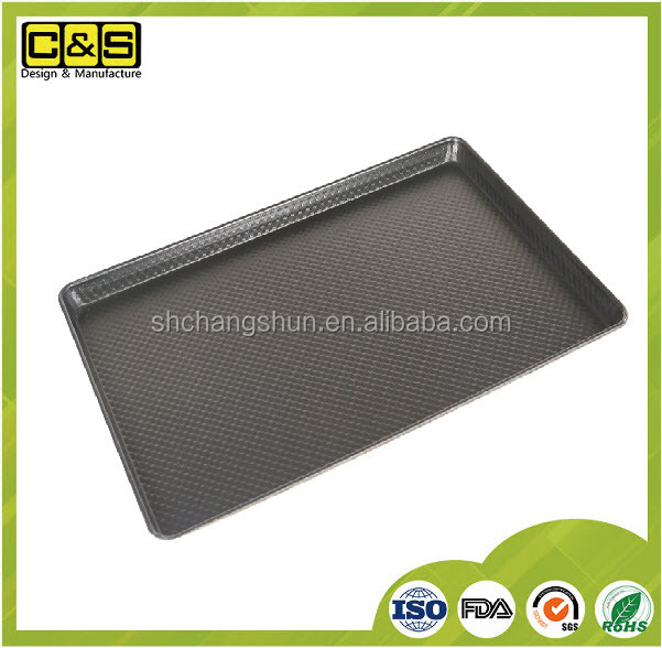 600x400mm Aluminum Alloy Corrugated Sheet Pan (Non-stick),Bread baking trays