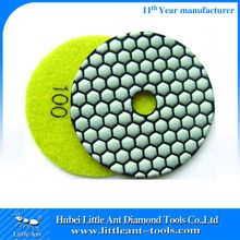 Angel Grinder Dry Flexible Diamond Polishing Pads