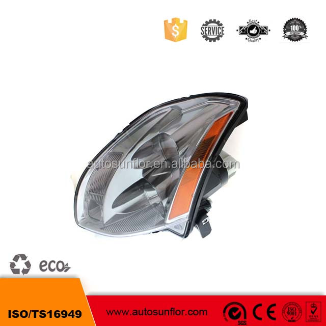 OE 260607Y025 260107Y025 Halogen Headlights car headlamp for maxima 2004