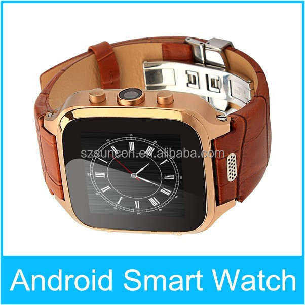 GPS|AGPS 3G Wifi bluetooth android 4.4 smart watch with unique features