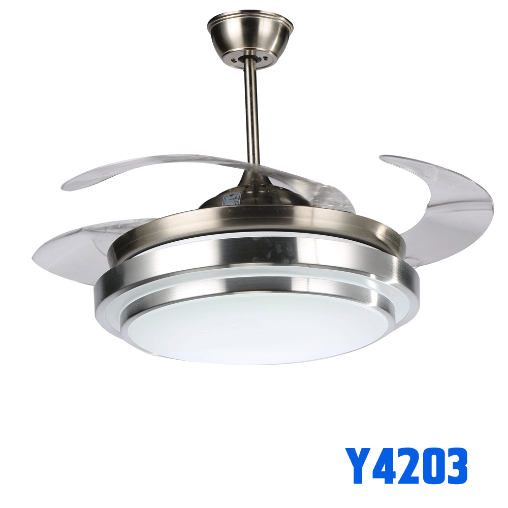 Ceiling Fan With Light Good Specifications With Hidden Blade