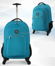2016 Carry On Trolley Rolling Wheeled Backpack With Removable Daypack