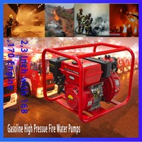 "2"" Inch High Pressure Gasoline Water Pumps with Aluminum for Fire Fighting"