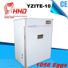 HDD CE approved industrial egg incubator for more than 1000 eggs with different kinds of plugs poultry egg incubator hatcher