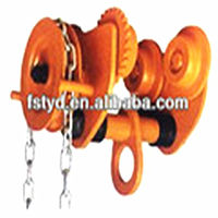 GCL(GCT) Geared Trolley factory Geared Trolley for Lifting made in China