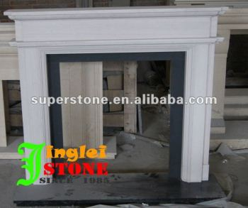 artificial stone fireplace mantel
