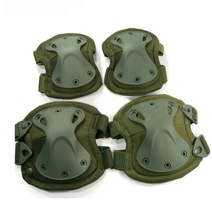 Tactical sport knee pads and elbow pads Protection 4piece/Set 5color to choose