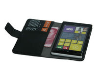 Wallet Leather Case for Nokia Lumia 925 with Business Credit Card Cash Slot