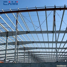 Prefeb durable low rise steel structure residential building