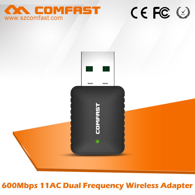 Best COMFAST CF-915AC 600Mbps Speed WiFi USB Adapter with Realtek Chipset for IP Camera