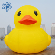 Advertising Giant Inflatable Promotion Yellow Duck Model With Cheap Price