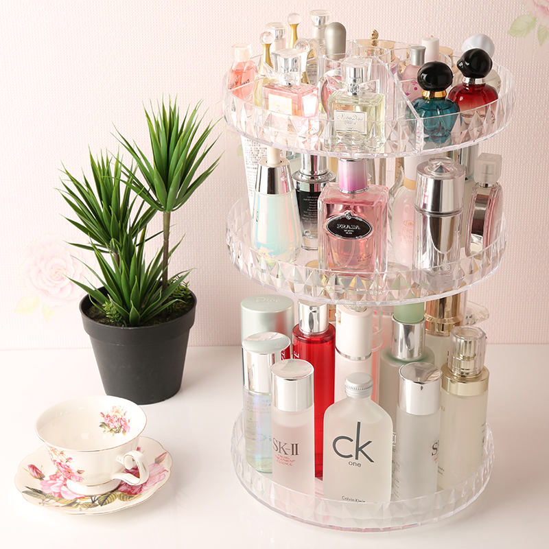 Manufacturer Clear Acrylic Rotating Lipstick Display Holder