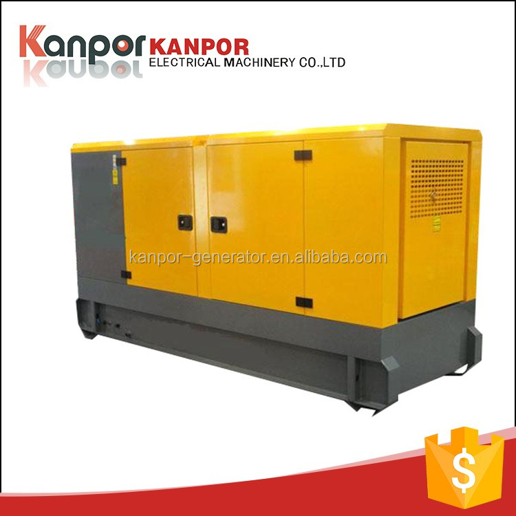 High quality portable ISO9001 30KW brush-less diesel generator electrical power