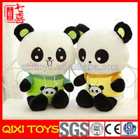 Novelty diy stuffed plush toys panda