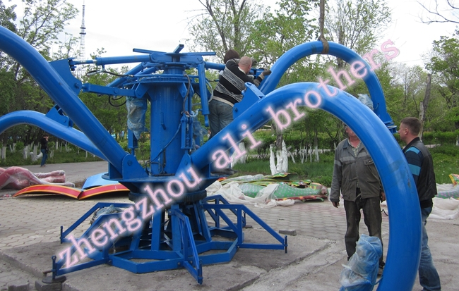 Christmas Promo!!!Junior rides self amusement park self control plane Big Octopus for sale