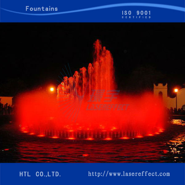 Musical dancing fountain outdoor colorful multimedia musical fountain